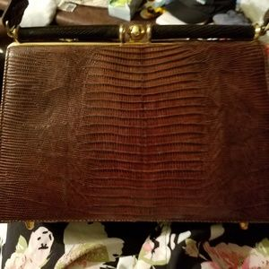 Vintage Alligator Bag